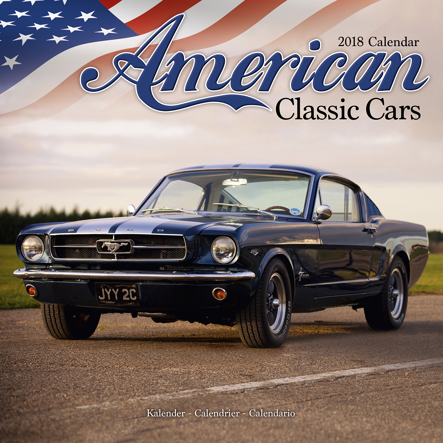 American classic cars calendar 2018 pet prints inc for American classic motor cars