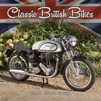 Classic British Motorbikes Wall Calendar 2018 by Avonside