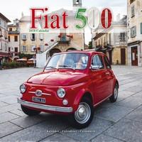 Fiat 500 Wall Calendar 2018 by Avonside