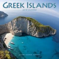 Greek Islands Wall Calendar 2018 by Avonside