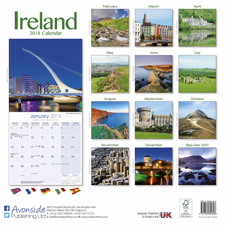 ireland calendar 2018 pet prints inc