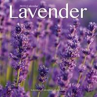 Lavender Wall Calendar 2018 by Avonside