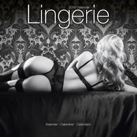 Lingerie Wall Calendar 2018 by Avonside