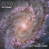 Spaced Out Wall Calendar 2018 by Avonside