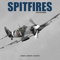 Spitfires Wall Calendar 2018 by Avonside