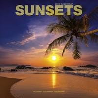 Sunsets Wall Calendar 2018 by Avonside