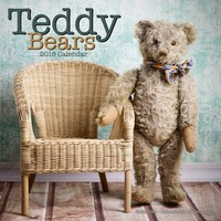 Teddy Bears Wall Calendar 2018 by Avonside