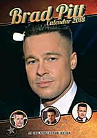 Brad Pitt Celebrity Wall Calendar 2018