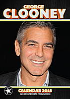 George Clooney Celebrity Wall Calendar 2018