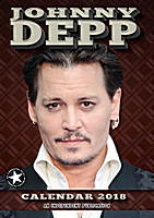 Johnny Depp Celebrity Wall Calendar 2018