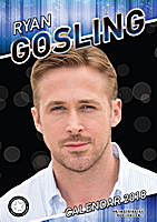 Ryan Gosling Celebrity Wall Calendar 2018