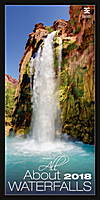 All About Waterfalls Wall Calendar 2018 by Helma