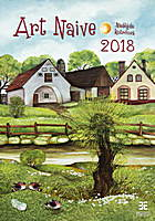 Art Naive Wall Calendar 2018 by Helma