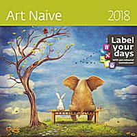 Art Naive Wall Calendar LP16 2018 by Helma