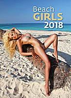 Beach Girls Wall Calendar 2018 by Helma