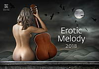 Erotic Melody Wall Calendar 2018 by Helma