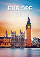 Europe Wall Calendar 2018 by Helma