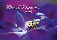 Floral Dreams Wall Calendar 2018 by Helma
