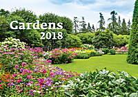 Gardens Wall Calendar 2018 by Helma