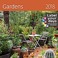 Gardens Wall Calendar LP11 2018 by Helma