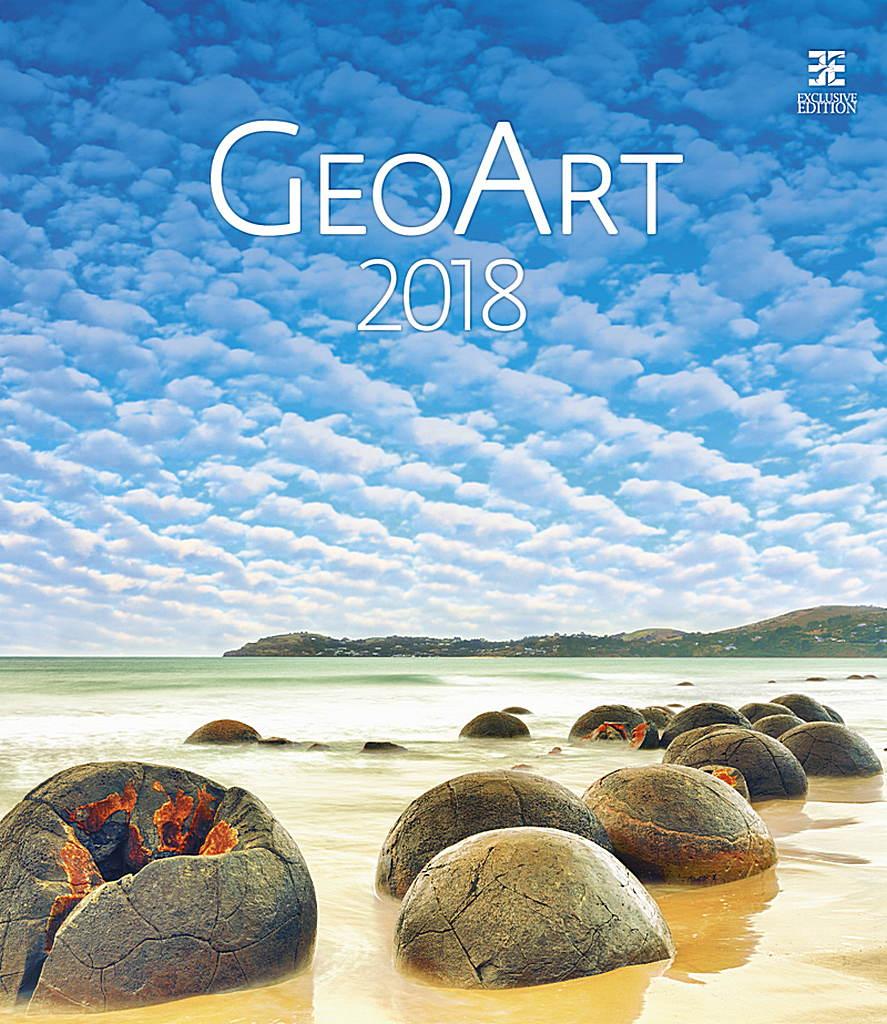 Geo Art Wall Calendar 2018 by Helma 8595230645579