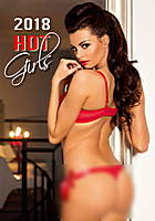 Hot Girls Wall Calendar 2018 by Helma