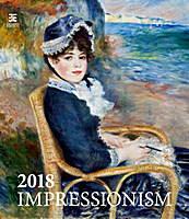 Impressionism Wall Calendar 2018 by Helma