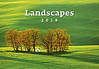 Landscapes Wall Calendar 2018 by Helma