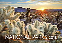 National Parks Wall Calendar 2018 by Helma