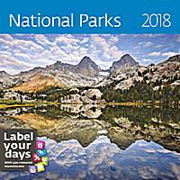 National Parks Wall Calendar 2018 by Helma