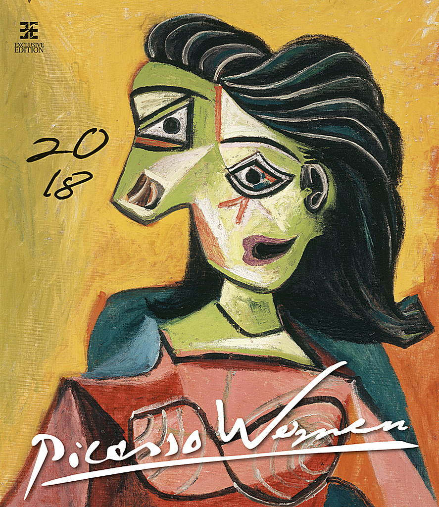 Pablo Picasso Women Wall Calendar 2018 by Helma 8595230644183