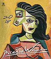 Pablo Picasso Women Wall Calendar 2018 by Helma