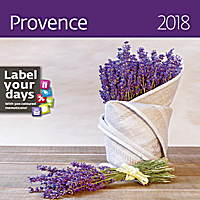 Provence Wall Calendar 2018 by Helma