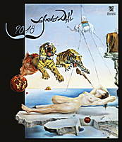 Salvador Dalí Wall Calendar 2018 by Helma