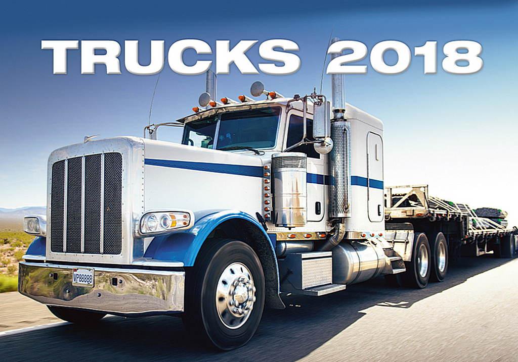 Trucks Wall Calendar 2018 by Helma 8595230644701