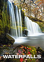 Waterfalls Wall Calendar 2018 by Helma