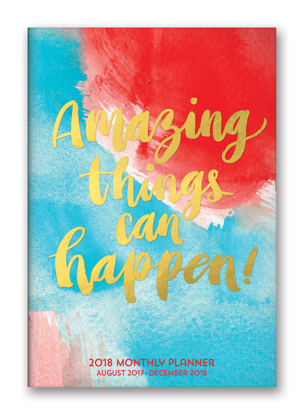 Amazing Things Can Happen! Monthly Pocket Planner 2018 by Orange Circle Studio 9781682581988