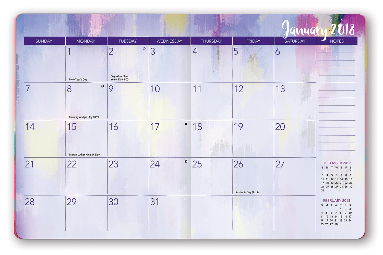 2018 Monthly Planner Tolg Jcmanagement Co