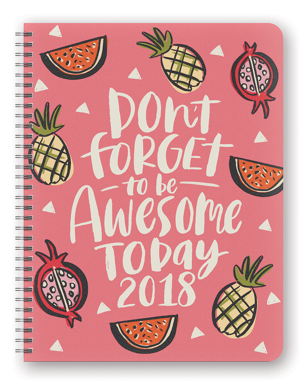 Be Awesome Today Extra Large Flexi Planner 2018 by Orange Circle Studio 9781682582503