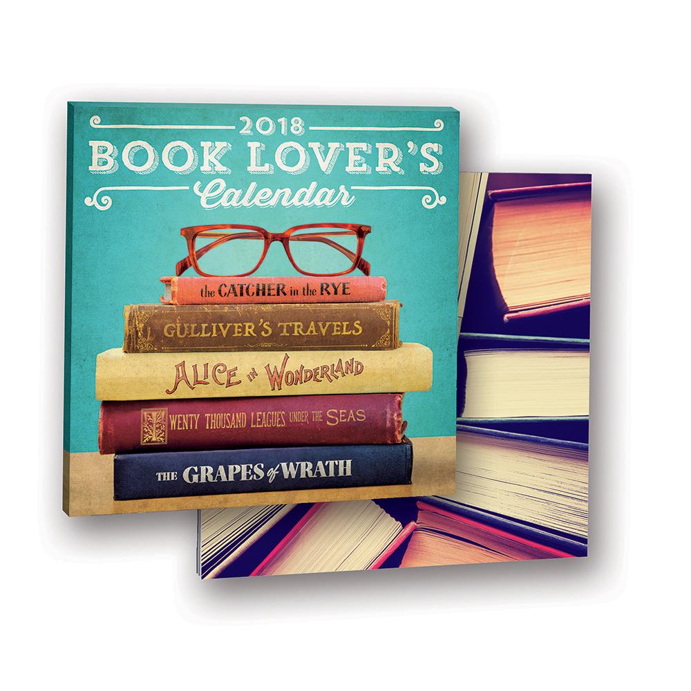 Book Lovers Album Calendar 2018 by Orange Circle Studio 9781682581636