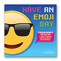 Have an Emoji Day Wall Calendar 2018 by Orange Circle Studio