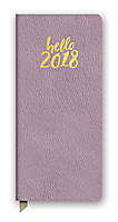 Hello Lavender Leatheresque Jotter Agenda 2018 by Orange Circle Studio