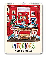 Interiors Poster Calendar 2018 by Orange Circle Studio