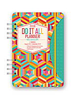 Kaleidoscope Do it All Planner 2018 by Orange Circle Studio 9781682581810