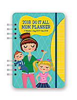 Mom Do it All Planner 2018 by Orange Circle Studio