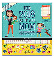 Mom Do it All Wall Calendar 2018 by Orange Circle Studio