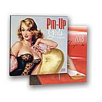 Pin-Up Girls Album Calendar 2018 by Orange Circle Studio 9781682581933