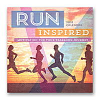 Run Inspired Wall Calendar 2018 by Orange Circle Studio
