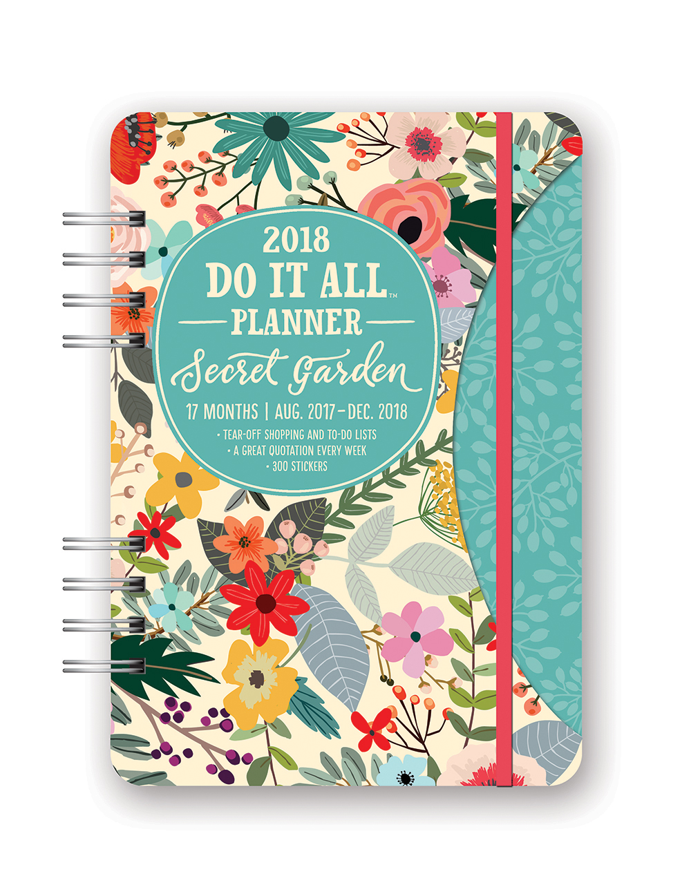 Secret Garden Do it All Planner 2018 by Orange Circle Studio 9781682581797