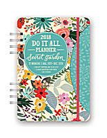 Secret Garden Do it All Planner 2018 by Orange Circle Studio
